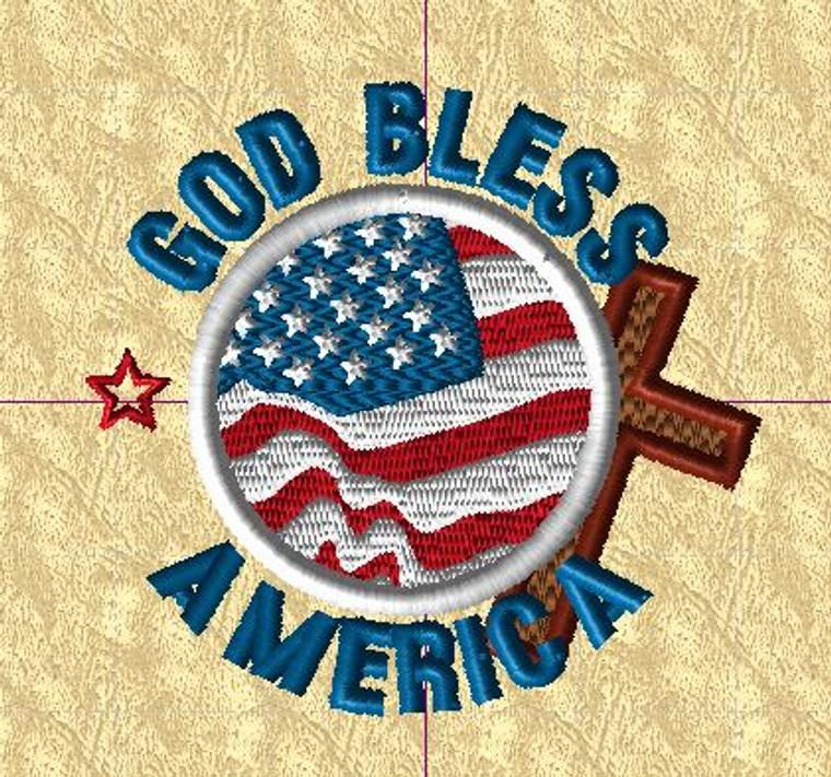 Love America 001 - 109.8mm x 103 mm