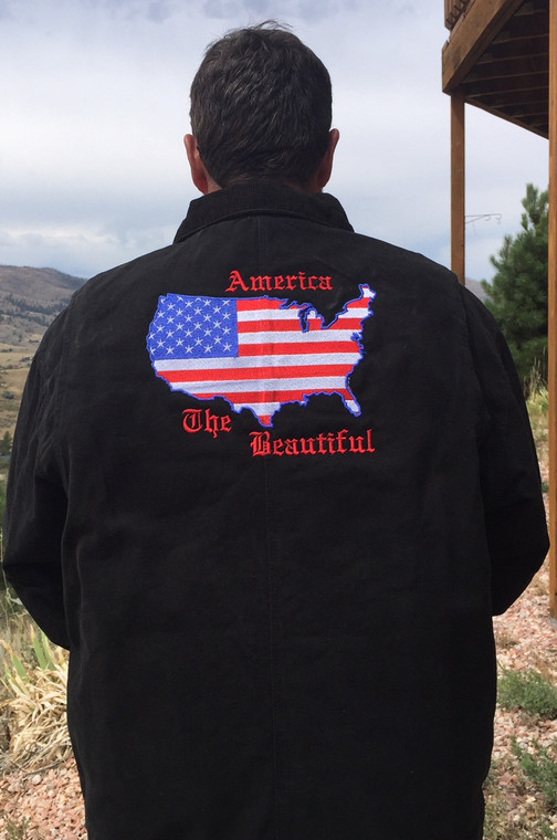 America the Beautify Dry-duck Jacket