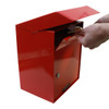 Large Outdoor Secure Payment Locking Drop Box door open
