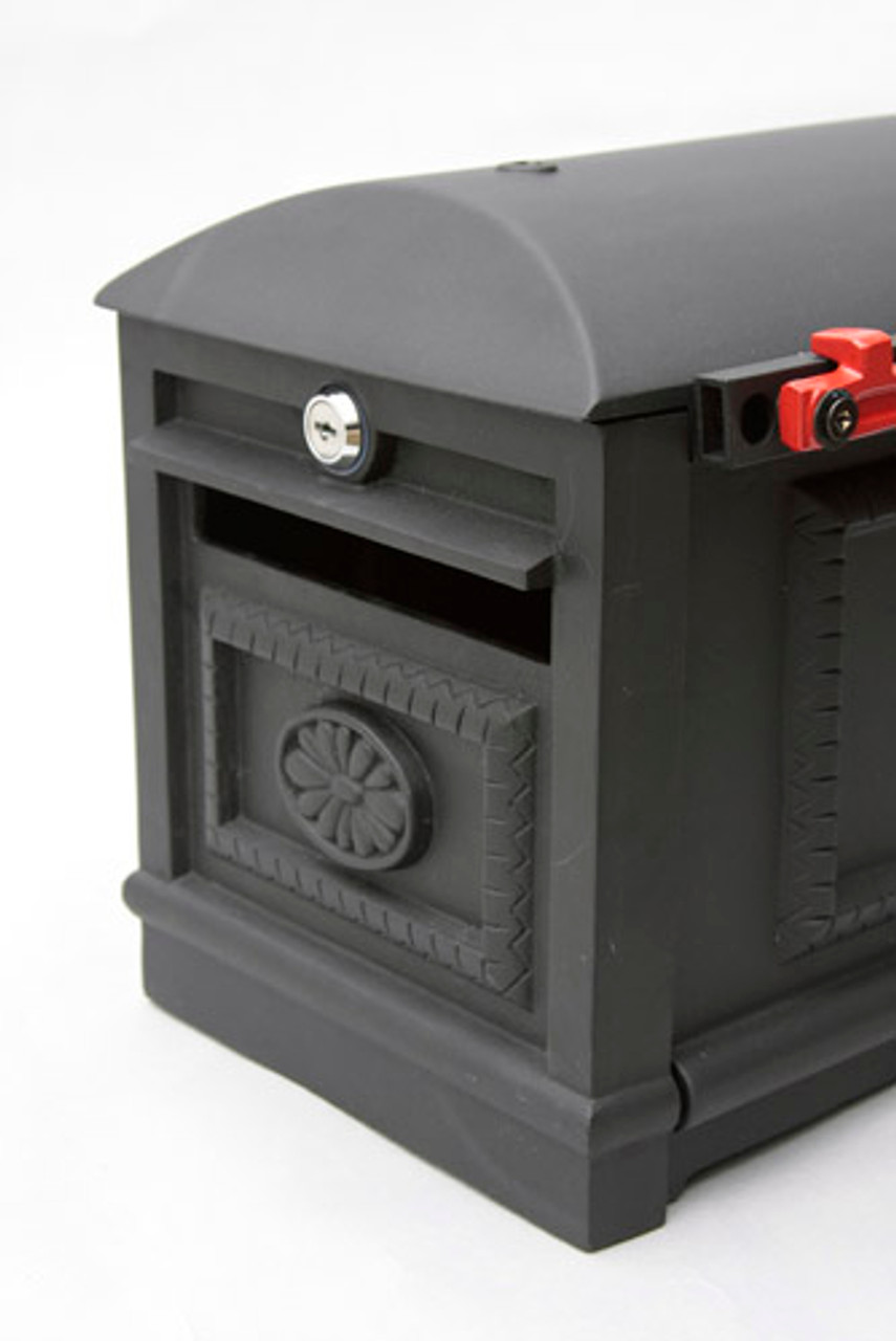 Victorian Locking Mailbox With Post Curbside Secure