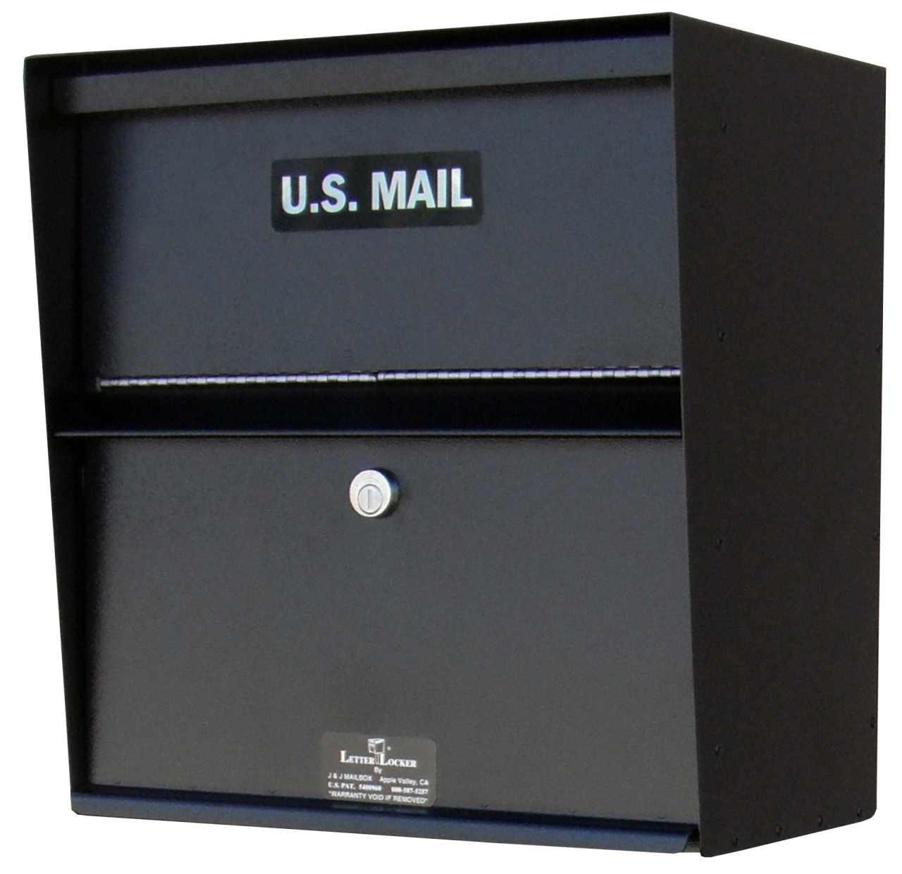 Locking Wall Mounted Mailbox Payment Drop Box Wall
