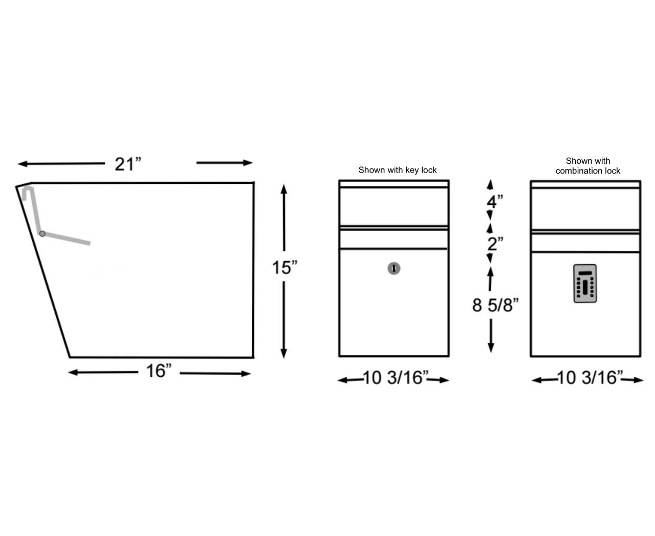 Mailbox Dimensions