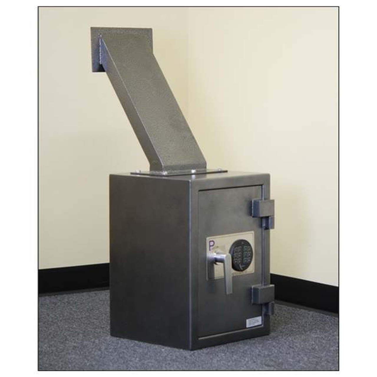 Through Wall Payment Drop Box With Chute Depository Safes