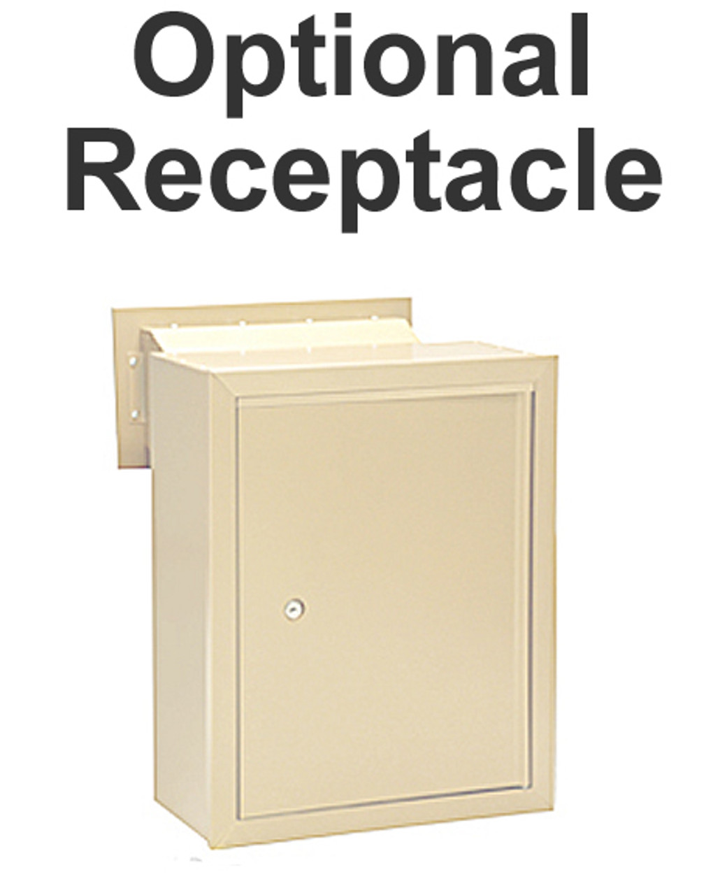 Wall Mail Drop Slot S2255 receptacle