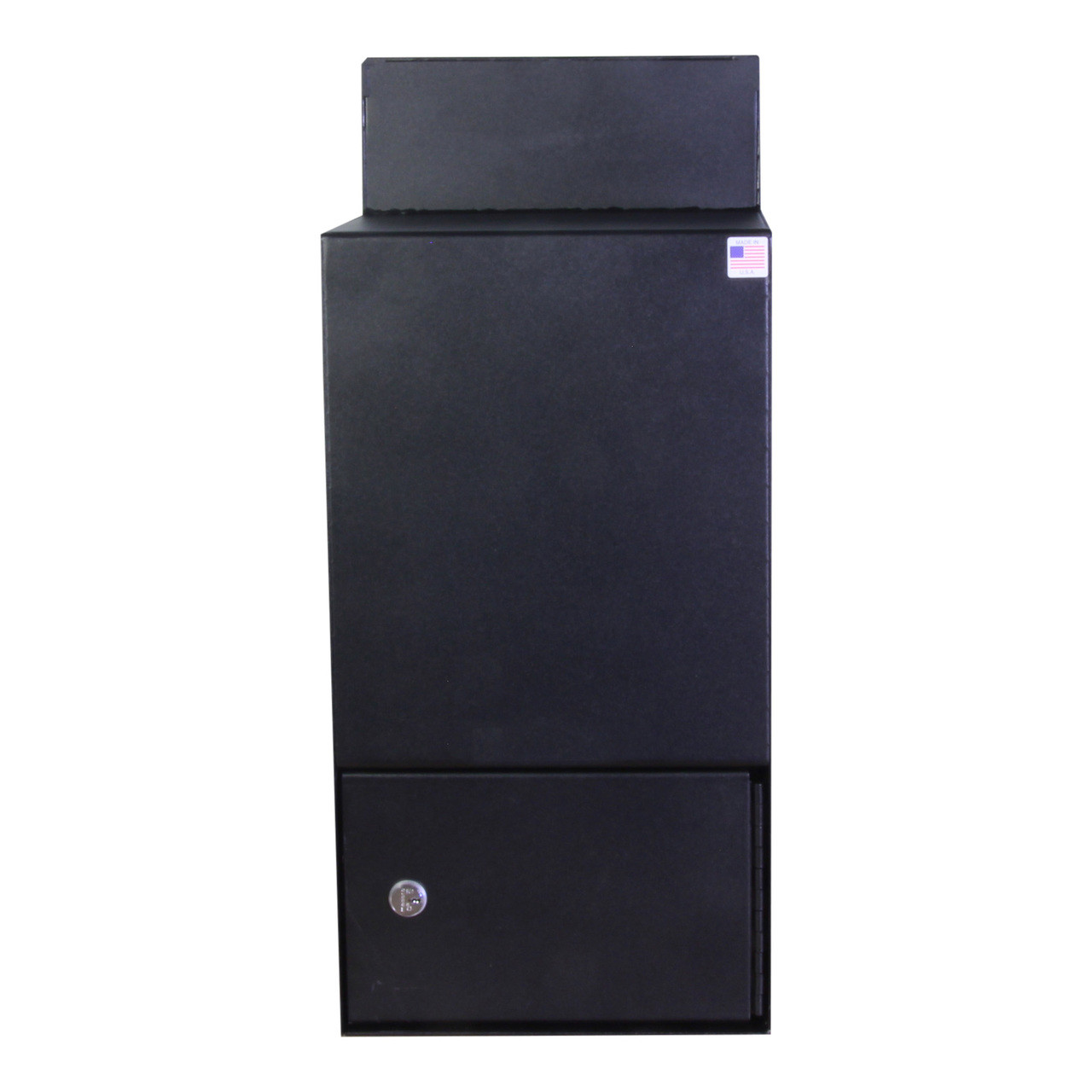 Back side of High Security Through the Wall Drop Box PVNDPRO903