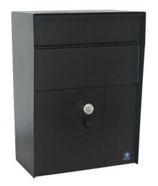 Wall Mounted Locking Mailbox Key Or Combination Lock