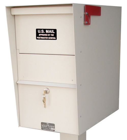 Locking Mailbox with Hopper Door item JCLLULT