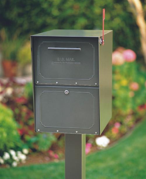 Bronze Locking Curbside Mailbox