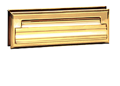 Brass Door Mail Slot