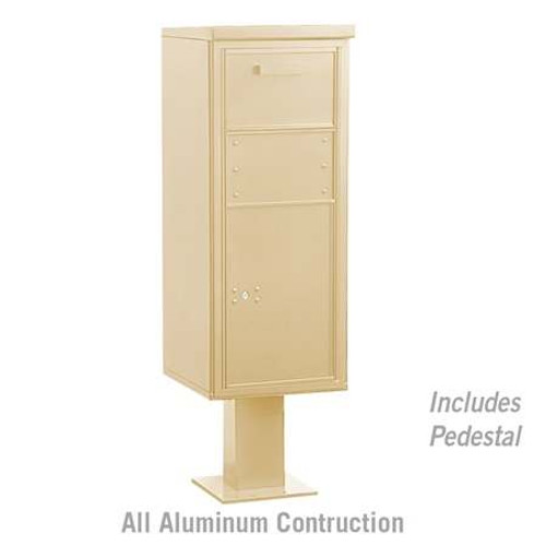 Large Parcel Delivery Drop Box with Post