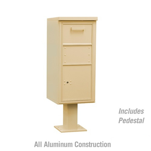 Collection Parcel Drop Box with Post