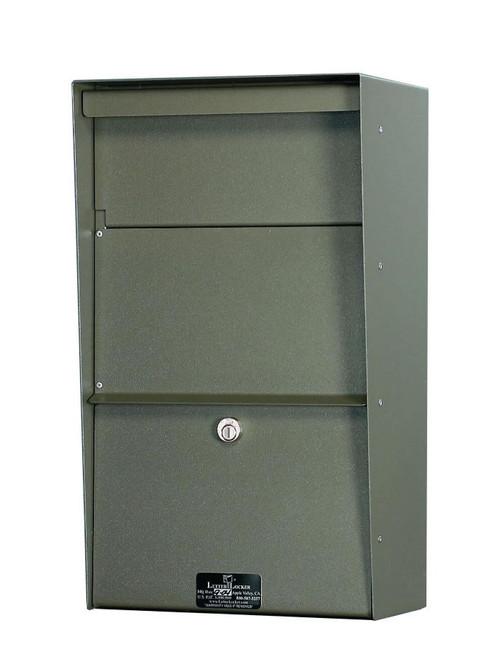 Large Locking Wall Mounted Mailbox