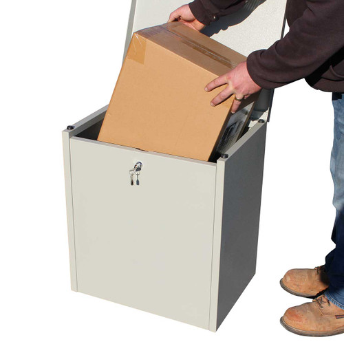 Parcel Receptacle for Home or Office Secure Deliveries