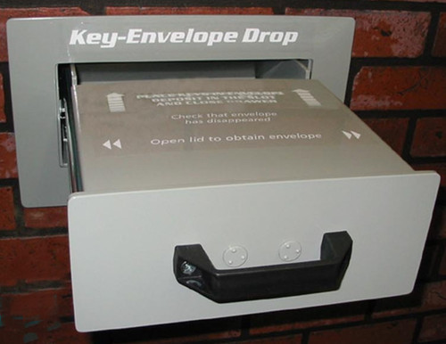 Through the Wall High Security Key / Payment Drop Box