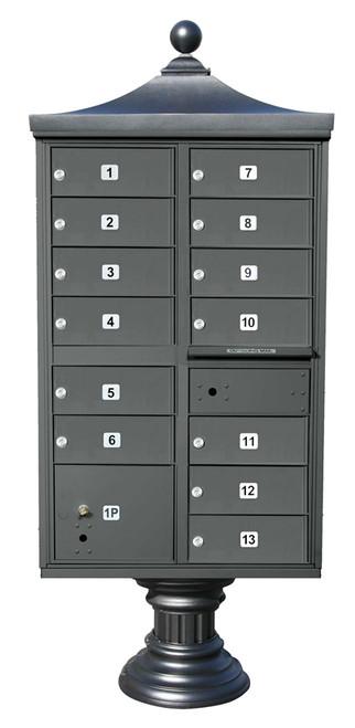 Regency 13 unit Cluster Mailbox