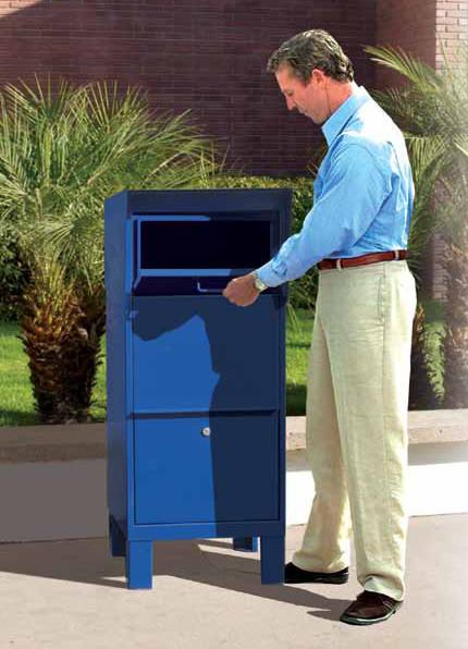 Courier Drop Box Locking Parcel Drop Boxes