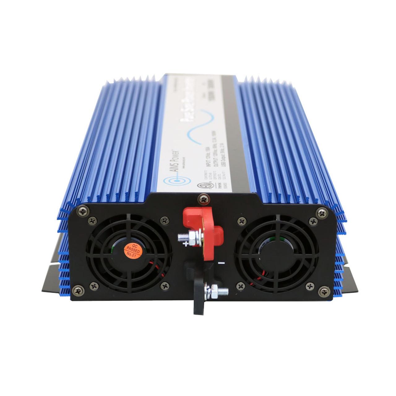 1500 Watt Pure Sine Inverter 12V DC