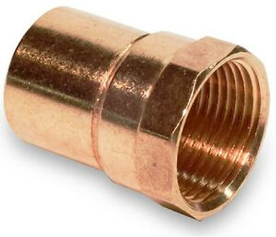 """1"""" Copper x Female Adapter"""