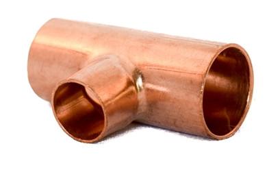 """1"""" x 1/2"""" Copper T"""
