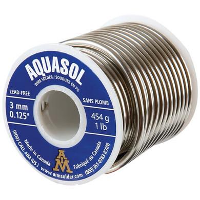 Aquasol 3MM Solder 454G