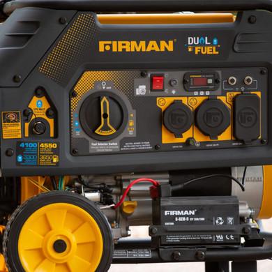 4550 Watt Dual Fuel Generator