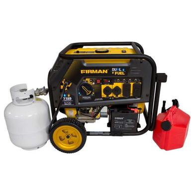 7125 Watt Dual Fuel Generator