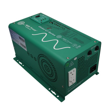 1250 WATT LOW FREQUENCY PURE SINE INVERTER CHARGER 12 VDC to 120 VAC