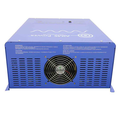 Off Grid / Back Up 6000 Watt Pure Sine Inverter Charger 120V & 24V Lithium Battery Kit