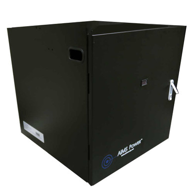 Battery Cabinet – Industrial Grade – Fits up to 4 Batteries Pre-Wired