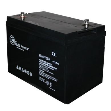 AGM 6V 225Ah Deep Cycle Battery Heavy Duty