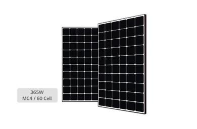 High Efficiency LG NeON® R Module Cells: 6 x 10 Module efficiency: 21.1% Connector Type: MC4