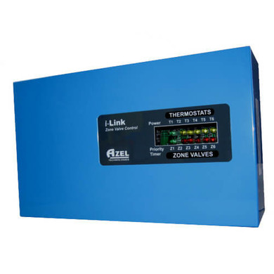 6 ZONE VALVE CONTROLLER W/PRIORITY EXPANDABLE