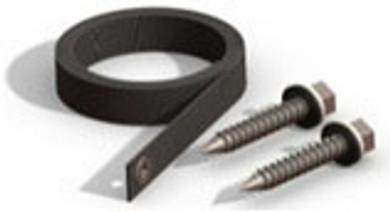 """Enersol Cross Strap Kit - 1 x 48"""" Long Strap + 2 Lag Bolts"""