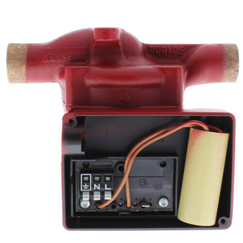 "UP15-42B7 1-Speed Bronze Circulator Pump, 3/4"" Sweat, 115V, 1/25 HP"