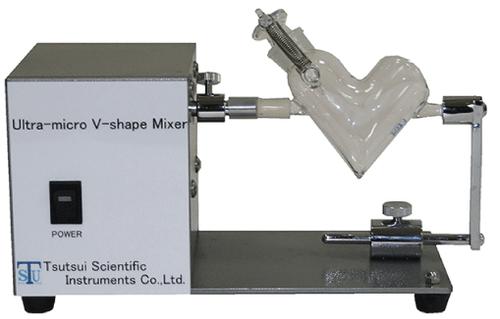 Ultra micro V-mixer main unit