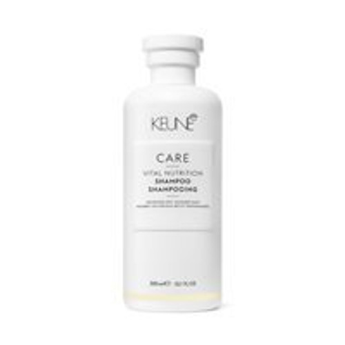 CARE VITAL NUTRITION SHAMPOO This shampoo is enriched with Nutri-Injection Technology, which restores the moisture balance of the hair while intensely nourishing. Strands are also protected from dehydration, environmental damages and harmful UV rays. The hair is left smooth, soft, shiny, and easy to detangle.