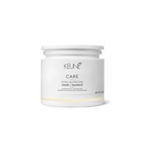 CARE VITAL NUTRITION MASK A luxurious treatment that improves elasticity, sooths damaged strands, strengthens and adds shine. The hair also protected from dehydration, environmental damages and harmful UV rays.