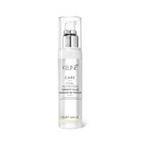 CARE VITAL NUTRITION POROSITY FILLER This concentrated cream is enriched with ceramide and wheat proteins that actively work to strengthen the hair fiber, restoring and revitalizing damaged hair.