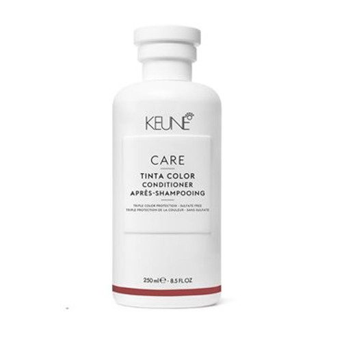 CARE TINTA COLOR SHAMPOO A gentle cleansing shampoo with a rich and creamy lather. The sulfate and paraben-free formula has been tailor-made to care for hair colored with Keune professional colors to ensure a long-lasting vibrancy and beautiful, healthy hair.