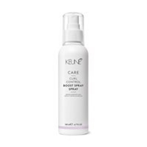 CARE CURL CONTROL BOOST SPRAY This activating anti-frizz spray adds moisture and bounce to curly hair. It has slight hold for beautifully defined curls that last all day.