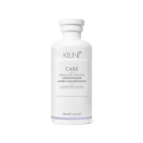 CARE ABSOLUTE VOLUME CONDITIONER This caring, nourishing conditioner is enriched with Provitamin B5 and wheat proteins to give fine, dull hair what it needs. The active ingredients plump up the strands and build volume without making the hair heavy.