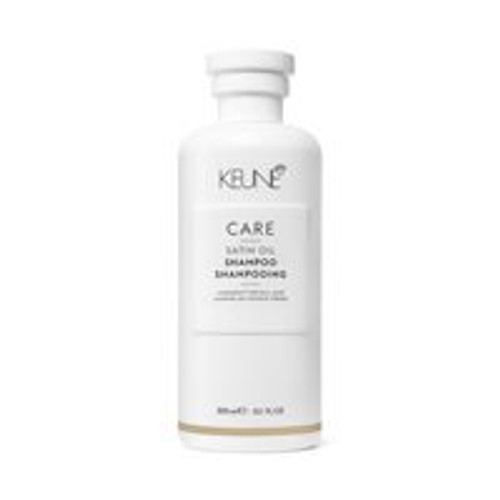CARE SATIN OIL SHAMPOO This mild shampoo is perfect for those with dull, dry hair. Unique Dual Technology nourishes each individual strand from the inside out. The innovative, light formula leaves hair refreshed, healthy and gorgeously shiny.