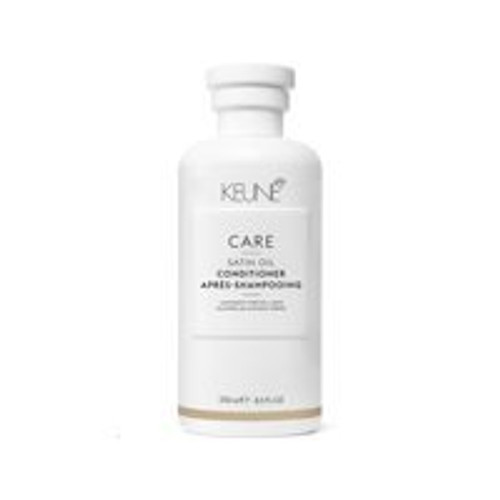 CARE SATIN OIL CONDITIONER A deeply hydrating conditioner for those with lackluster, dry hair. Thanks to the Dual Technology, the hair is nourished from the inside out, leaving you with silky, shiny, soft strands.