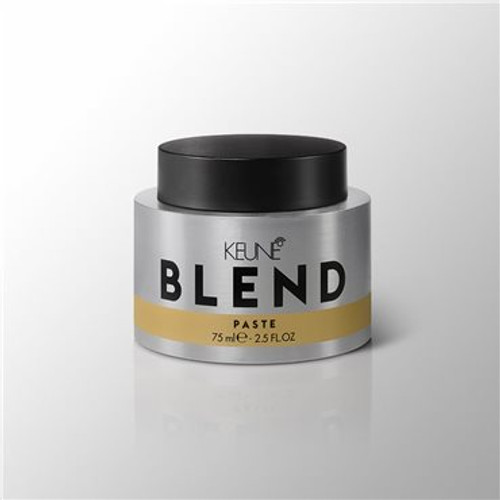 BLEND PASTE Intense texturiser for long lasting definition and dimension. Gives extreme and tangled effects. A long lasting explosive look.