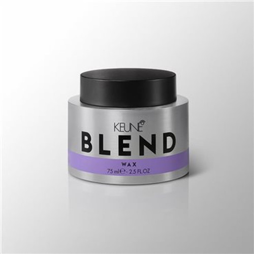 BLEND WAX Make the most of short and medium-length hair. This smooth, clear wax gives you perfect definition sans grease. Simply rinse it off with water at the end of the day. Wax on, wax off.