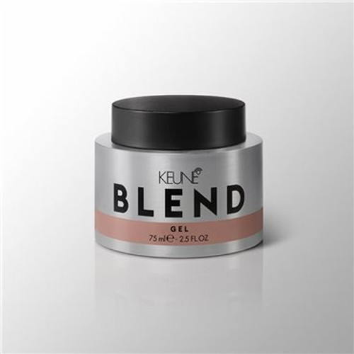 BLEND GEL Like to be in control? Then this one is for you. This concentrated transparent gel ensures long-lasting performance, eliminates static and gives you that wet look.