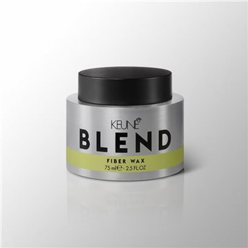 BLEND FIBER WAX Body, volume, texture, structure – all while maintaining an elastic and flexible hold. Structure-strengthening fibers make it all happen, without adding weight.
