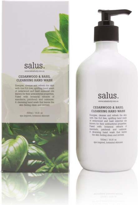 Energise, cleanse and refresh the skin with this SLS free, uplifting hand wash of cedarwood and basil essential oils known for their antibacterial properties. Fused with botanical extracts of mandarin, patchouli and oakmoss. A cleansing hand wash that leaves the skin feeling clean and revived.