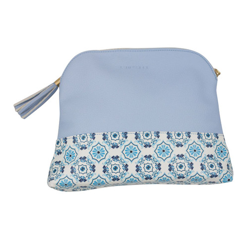 Gigi XL Case in Capri Blue Tile