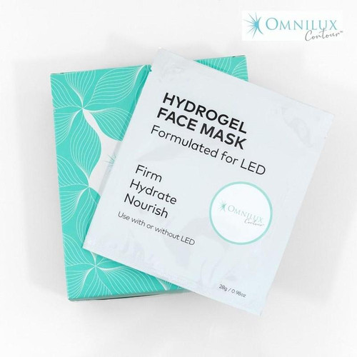 Specially formulated to maximise light penetration during light therapy treatment, the Omnilux Contour Hydrogel Mask enhances your light therapy experience and results.